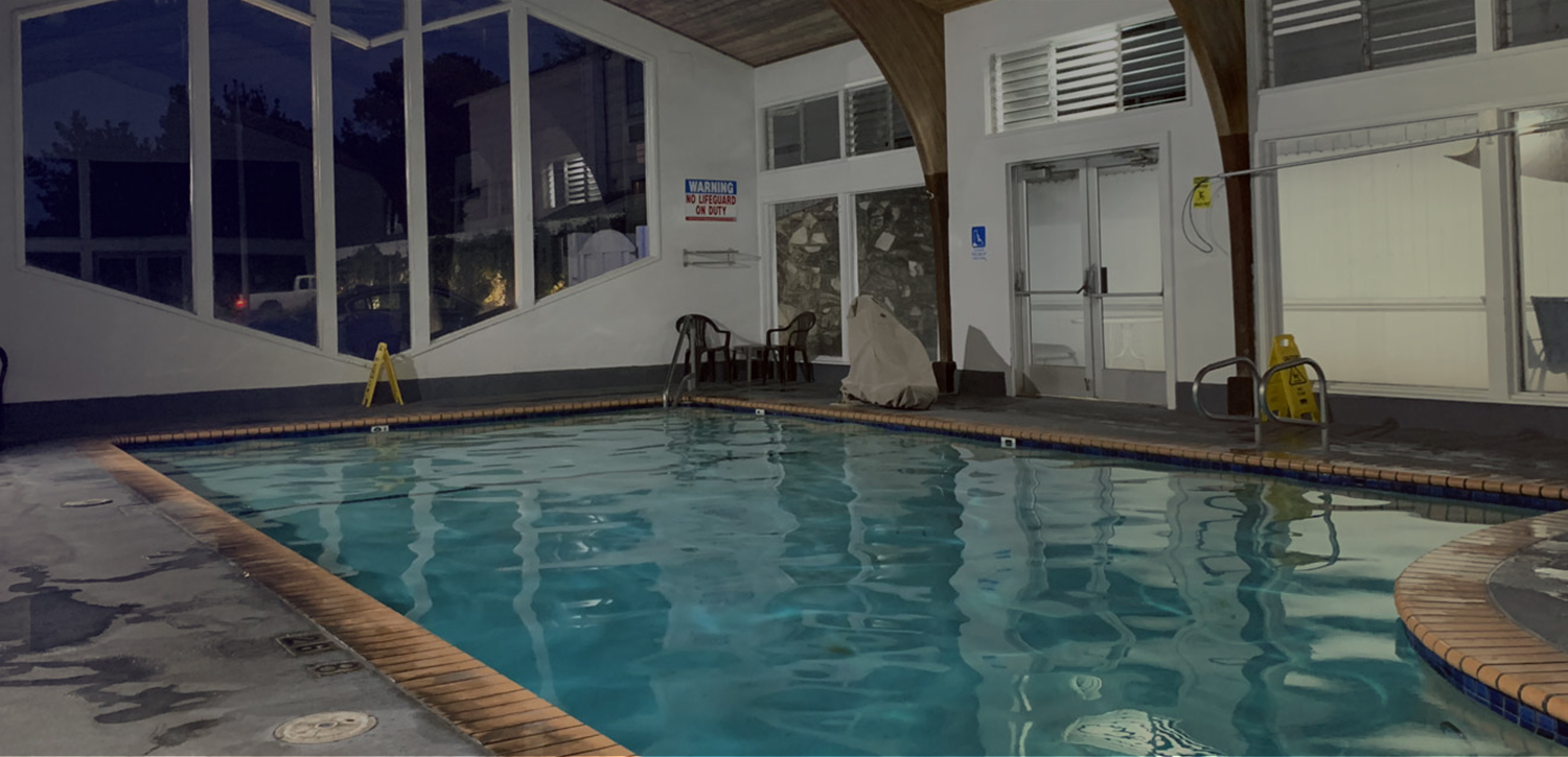 TAKE A DIP IN OUR INDOOR POOL AFTER A LONG DAY EXPLORING
